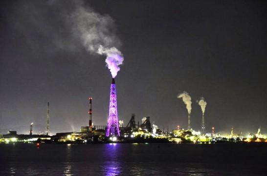 北九州工場群夜景