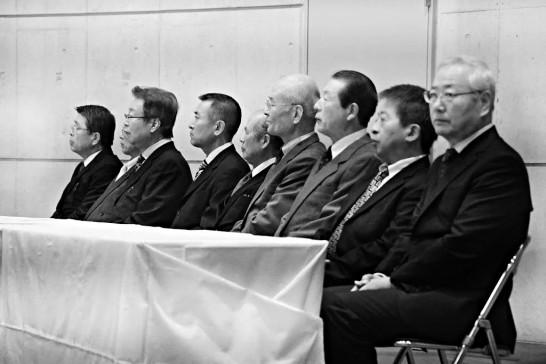 岳陽同窓会入会式参列役員1