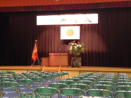 田川高校の入学式