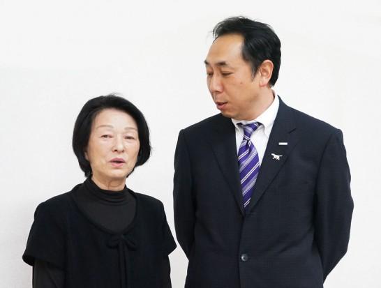 田川高校岳陽同窓会8回生先輩と36回生副実行委員長