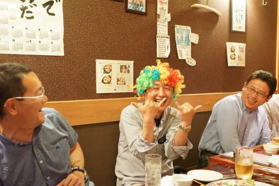 田川高校36回生岳陽同窓会懇親会-ちんちきちん16