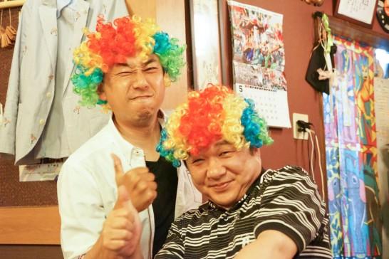 田川高校36回生岳陽同窓会懇親会-ちんちきちん17