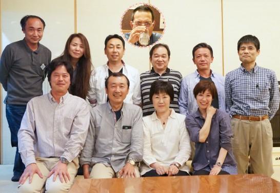 田川高校36回生岳陽同窓会懇親会 山賊鍋1