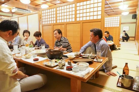 田川高校36回生岳陽同窓会懇親会-山賊鍋11