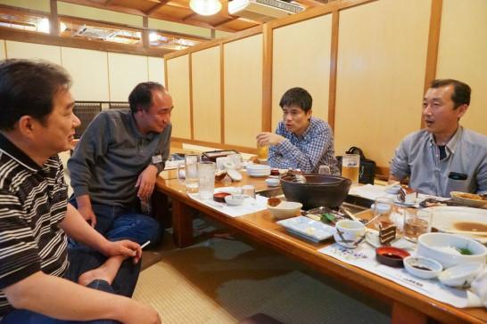 田川高校36回生岳陽同窓会懇親会-山賊鍋12
