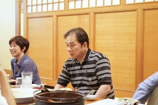 田川高校36回生岳陽同窓会懇親会-山賊鍋13