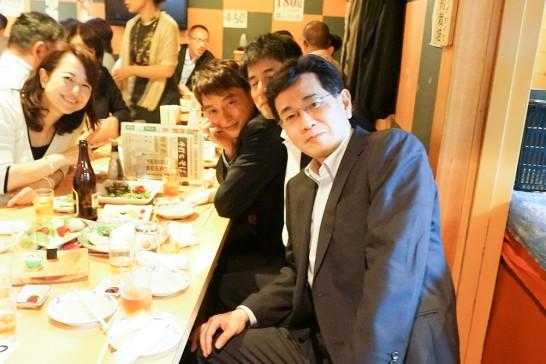 東京岳陽会総会二次会1