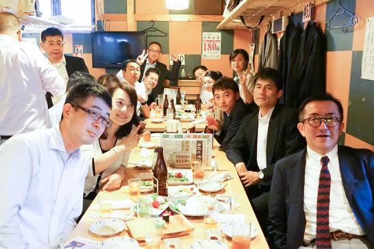 東京岳陽会総会二次会3
