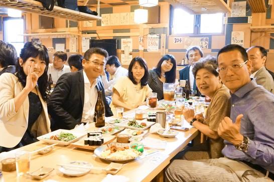 東京岳陽会総会二次会6