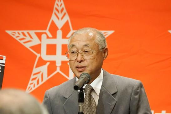 田川高校奨学会会長