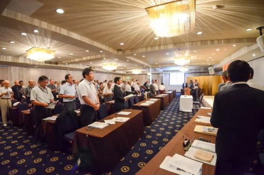 昨年の岳陽同窓会幹事総会の様子