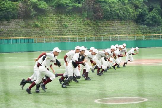 田川高校野球部福岡大会-1