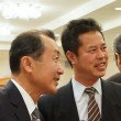 田川高校36回生代表幹事と実行委員長