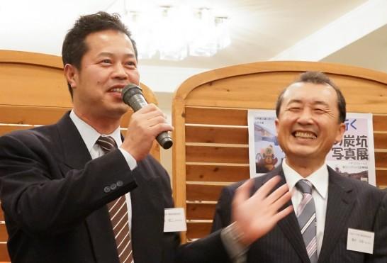 田川高校36回生代表幹事と実行委員長-2