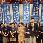 総会アピール/平成27年度岳陽同窓会総会参加者③