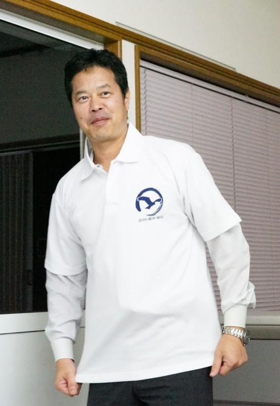 田川高校36回生ユニフォーム前