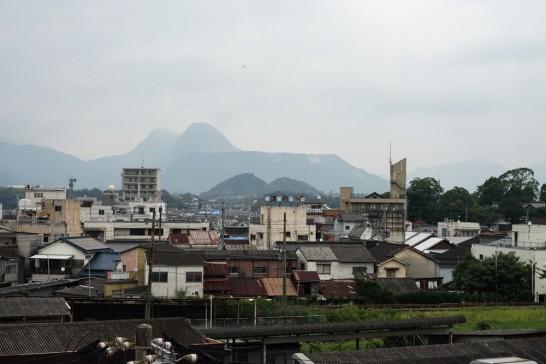 石炭記念公園から香春岳