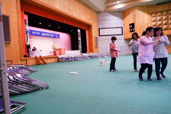 総会前準備-3