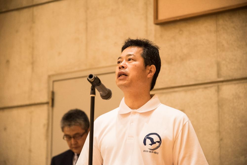 田川高校岳陽同窓会進路講演会-2