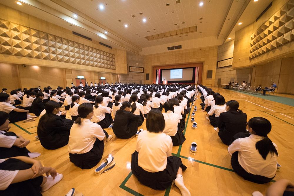 田川高校岳陽同窓会進路講演会-92