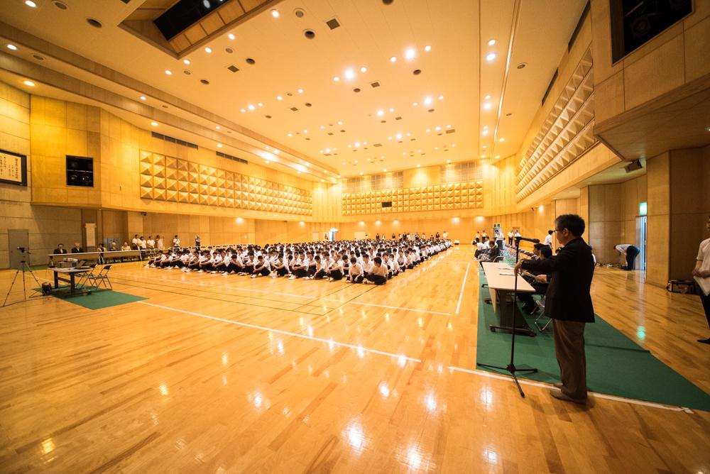 田川高校岳陽同窓会進路講演会