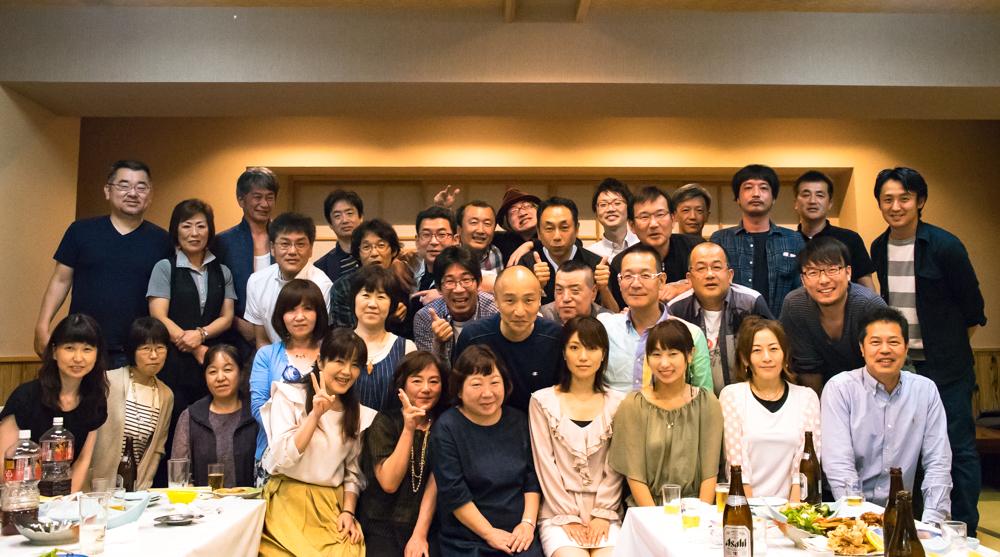 田川高校36回生52回生合同決起集会集合写真
