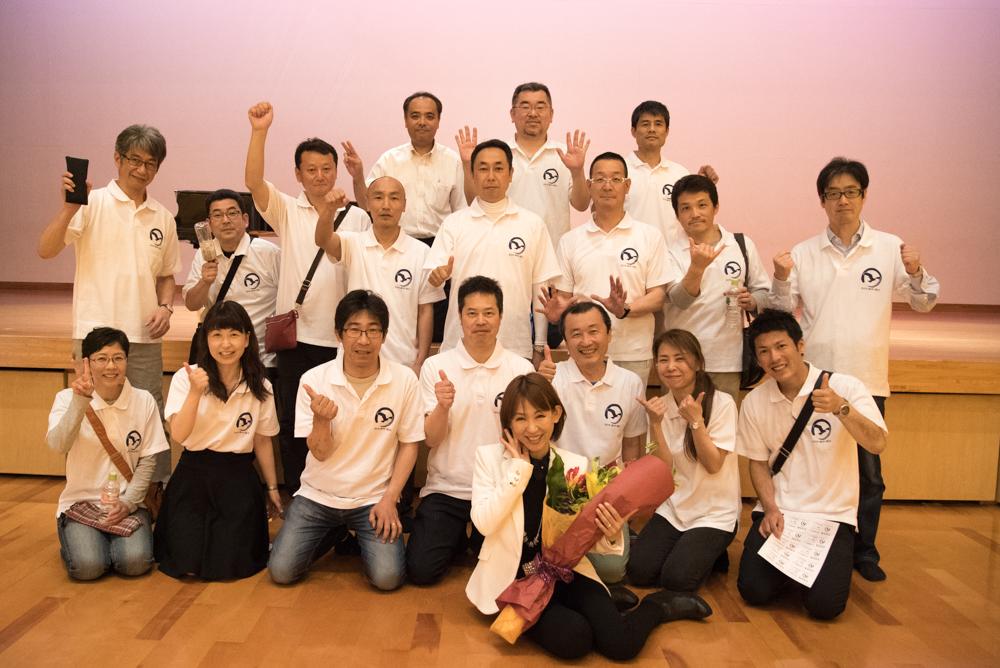 田川高校36回生進路講演会集合写真