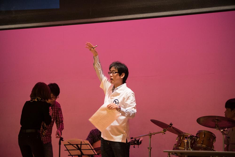 田川高校岳陽同窓会進路講演会リハーサルと準備-12