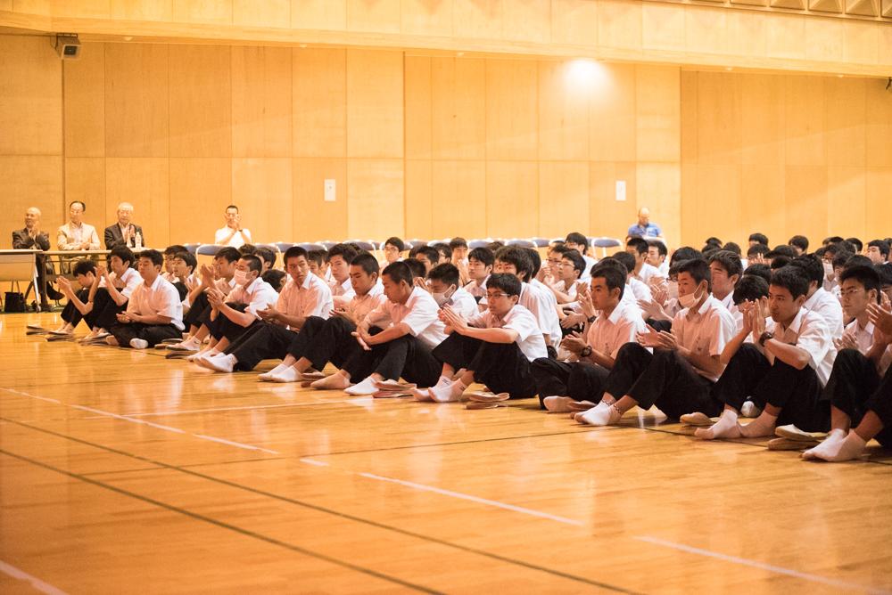 田川高校岳陽同窓会進路講演会-65