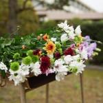 くさびの塔追悼式/田川高校へ記念品贈呈