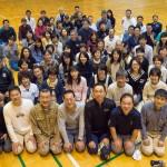28年度岳陽同窓会総会の報告①お礼と集合写真